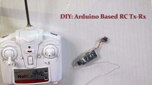 Arduino Based RC Transmitter and Receiver Image