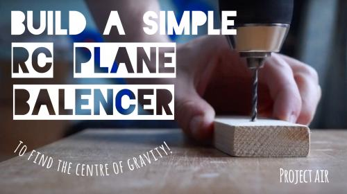 Build a Simple Airplane Balancing Stand! Image