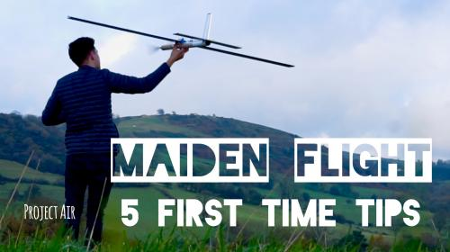 5 First Time Maiden Flight Tips! - How To Image