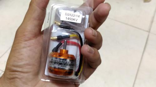 DYS D2822 1450 KV Motor Review with Thrust Test Image