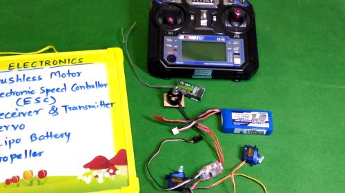 RC Plane Electronics for Beginners Image