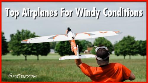 The Best RC Airplanes for Windy Days Image