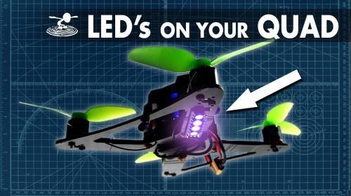 How to put LED's on your Quad - Build Guide Poster Image