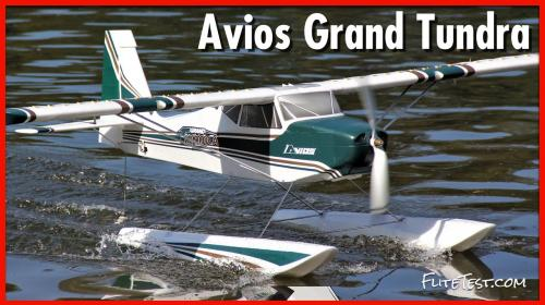 Durafly Avios Grand Tundra - Release Poster Image