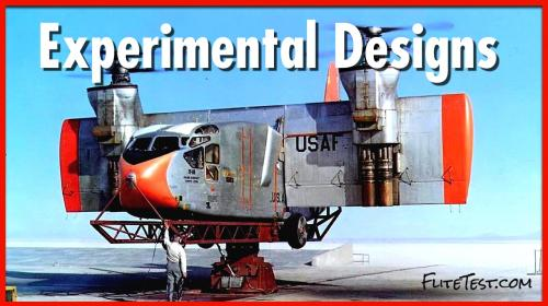 Top 10 Outlandish Aircraft Designs that Flew Image