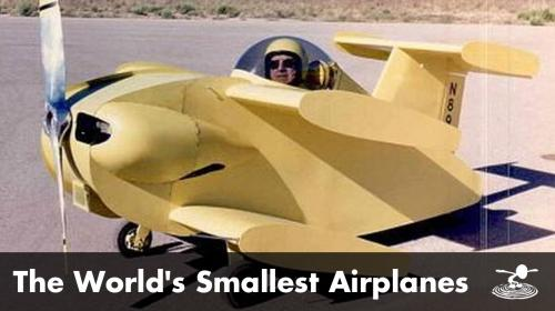 Oddities of Aviation: The World's Smallest Planes Poster Image