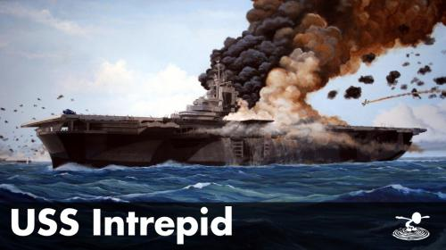 The USS Intrepid - From WW2 to the Space Age Poster Image