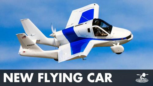 First Practical Flying Car? Terrafugia Transition Poster Image