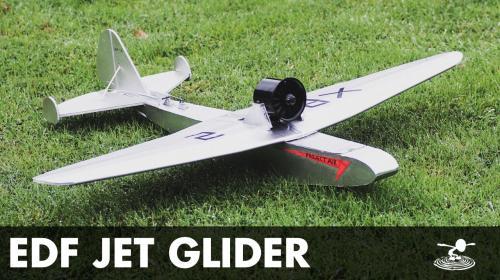 Experimental EDF Glider Image