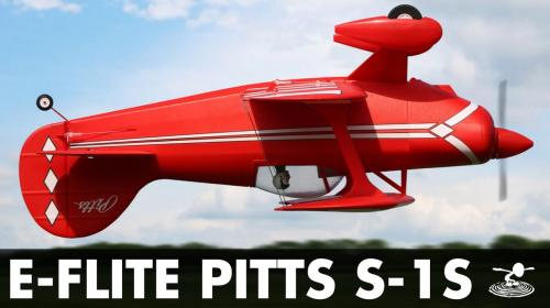 New E-Flite Pitts S-1S (with AS3X and SAFE Select) Image