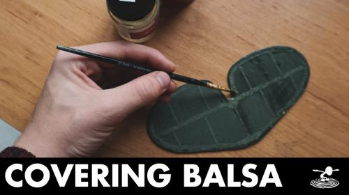 Guide to Balsa Model Tissue Covering Poster Image