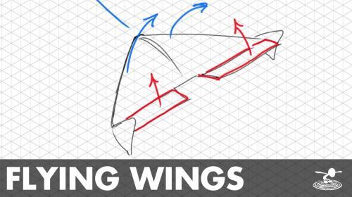 How Flying Wings Work | Aerodynamics Simplified