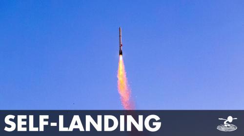 DIY Scientist builds Self-Landing Model Rockets Poster Image