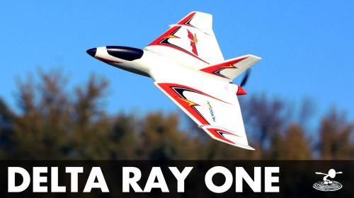 An Alternative Mini Trainer? E-Flite Delta Ray One Poster Image