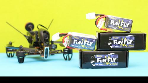 Tattu FunFly Series LiPo Battery Review Image