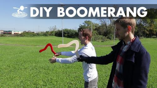 How To Make and Throw a Boomerang Image