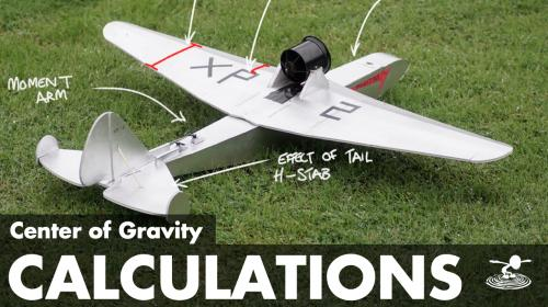 Where Should an RC Airplane Center of Gravity be?