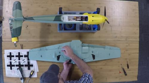 The build and maiden of Durafly Bf-109 Image