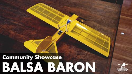 Balsa Baron! Check Out This Amazing Scratch Build Image