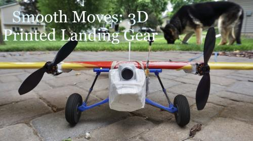 Smooth Moves: 3D Printed Landing Gear Image