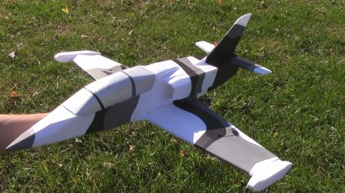 DIY 50mm EDF RC Aero L-39 V2 Poster Image