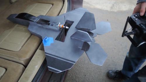 FliteTest FT-22 Build, Maiden Flight & Crash! Image