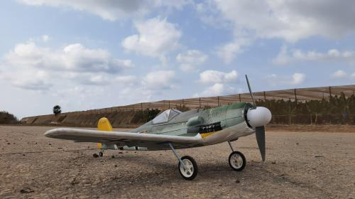 from 3ch to 4ch and landing gear for the FW-190D Poster Image