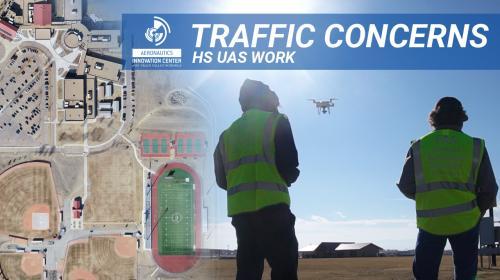 Traffic Concerns- UAS High School Team Poster Image
