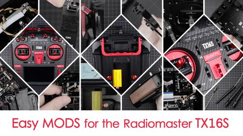 Easy MODS for your Radiomaster TX16S Transmitter Poster Image