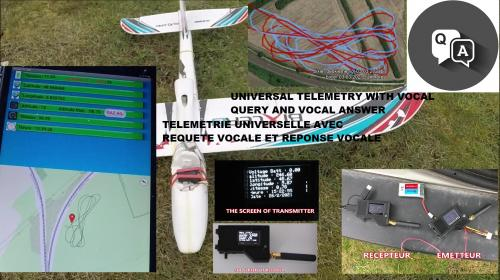 Universal telemetry for rc plane with android app Poster Image