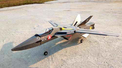 ROBOTECH VF-1Valkyrie FliteTest/MesaRC style build Image