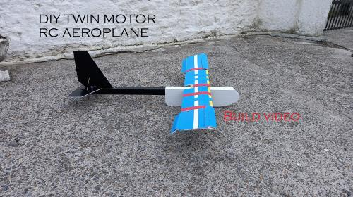 DIY Twin Motor RC Aeroplane Part 1 Image