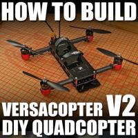 FT VersaCopter V.2 - DIY Quadcopter -BUILD