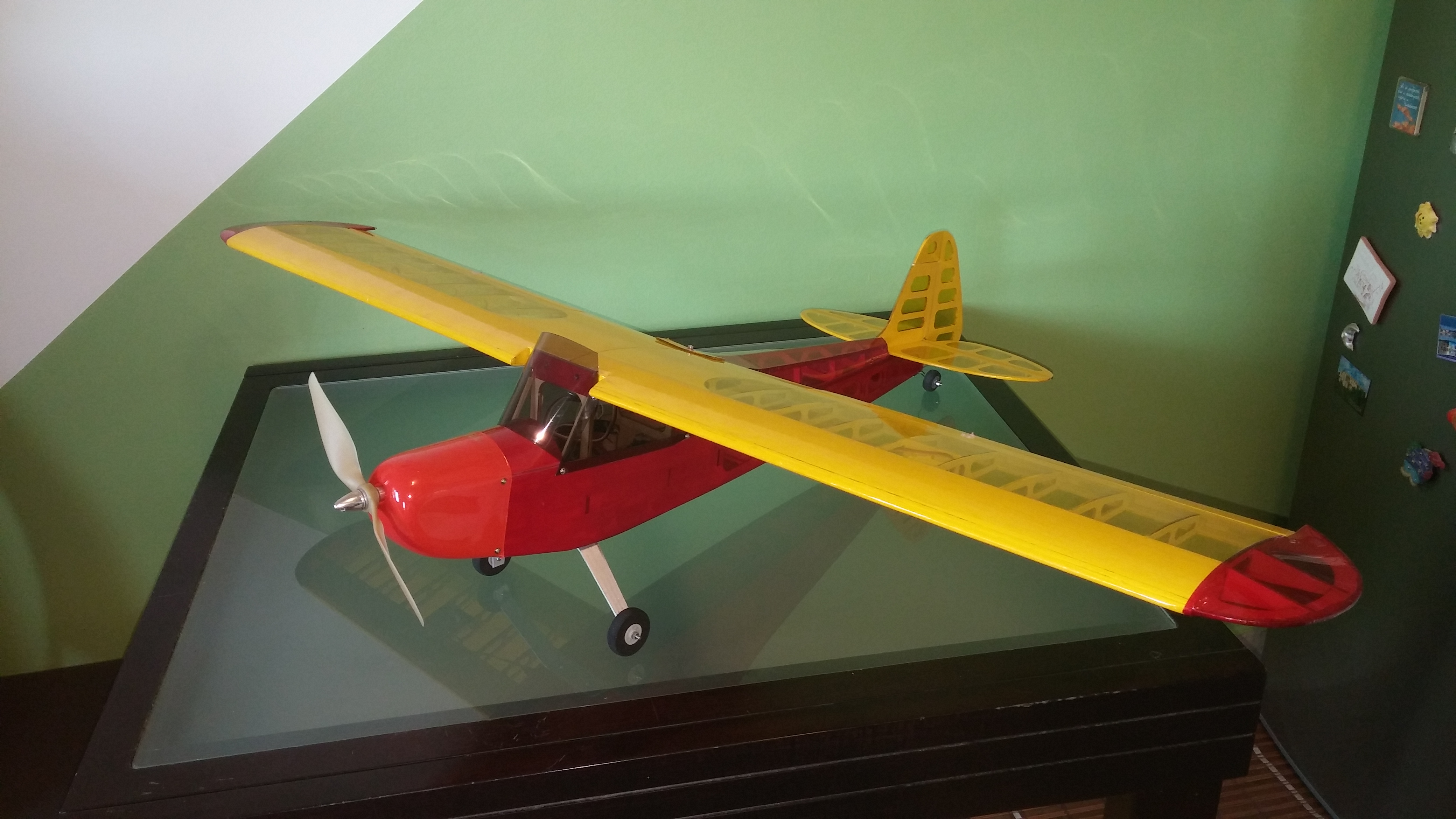 J-3 Laser cut kit 1180mm Wingspan | Flite Test