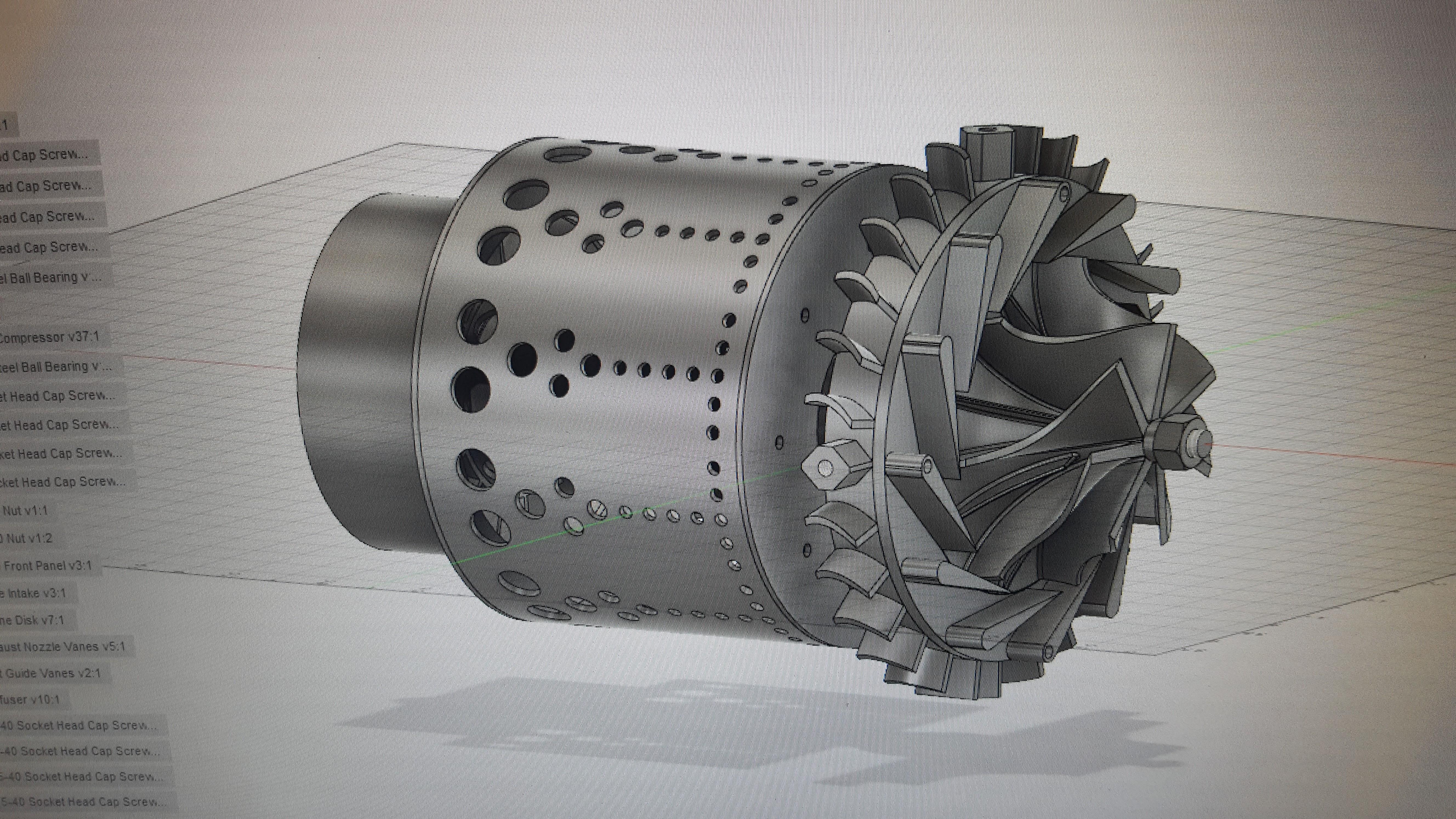 Custom Turbojet Engine Build   Flite Test