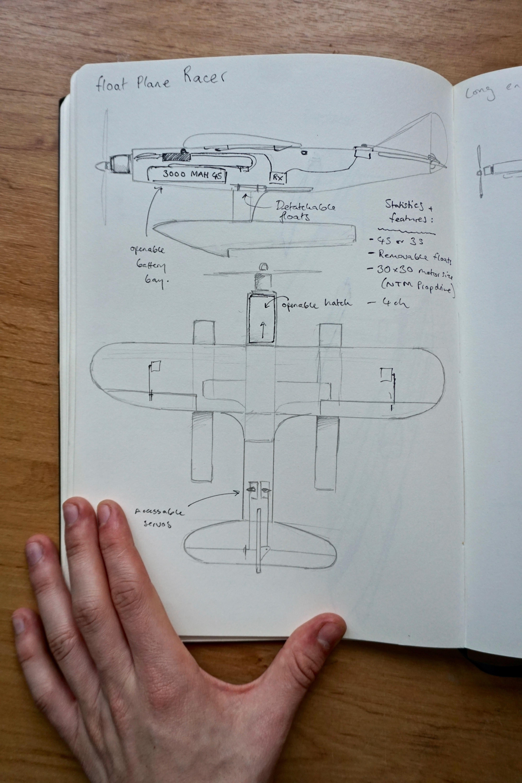Design Class How To Sketch Airplane Ideas Flite Test