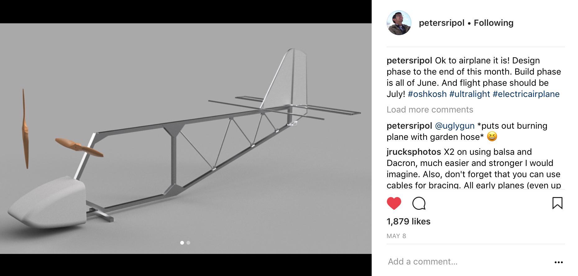 Peter Sripol's New DIY Ultralight | Flite Test