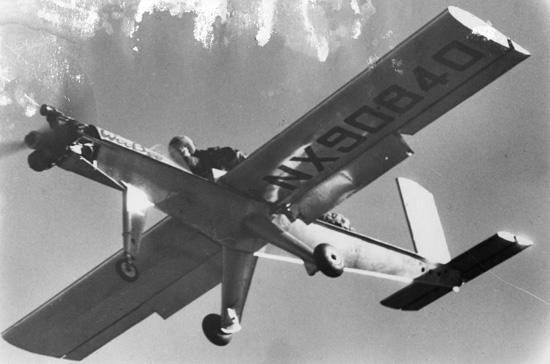 Aircraft worlds smallest manned An Utterly