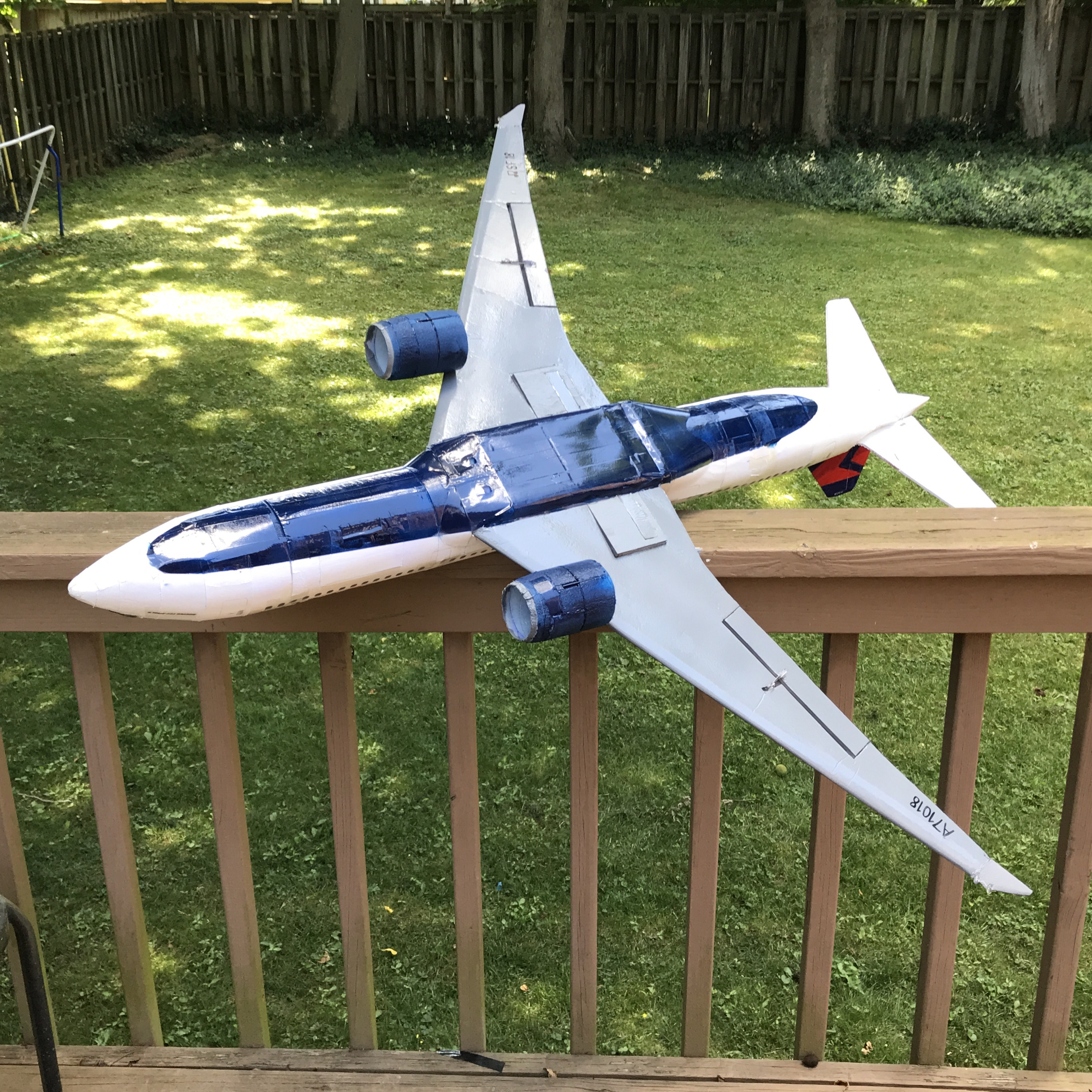 Boeing 777 EDF Delta Airliner | Flite Test