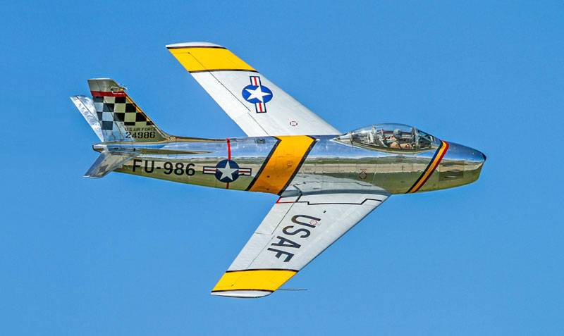 Image result for the f-86 sabre