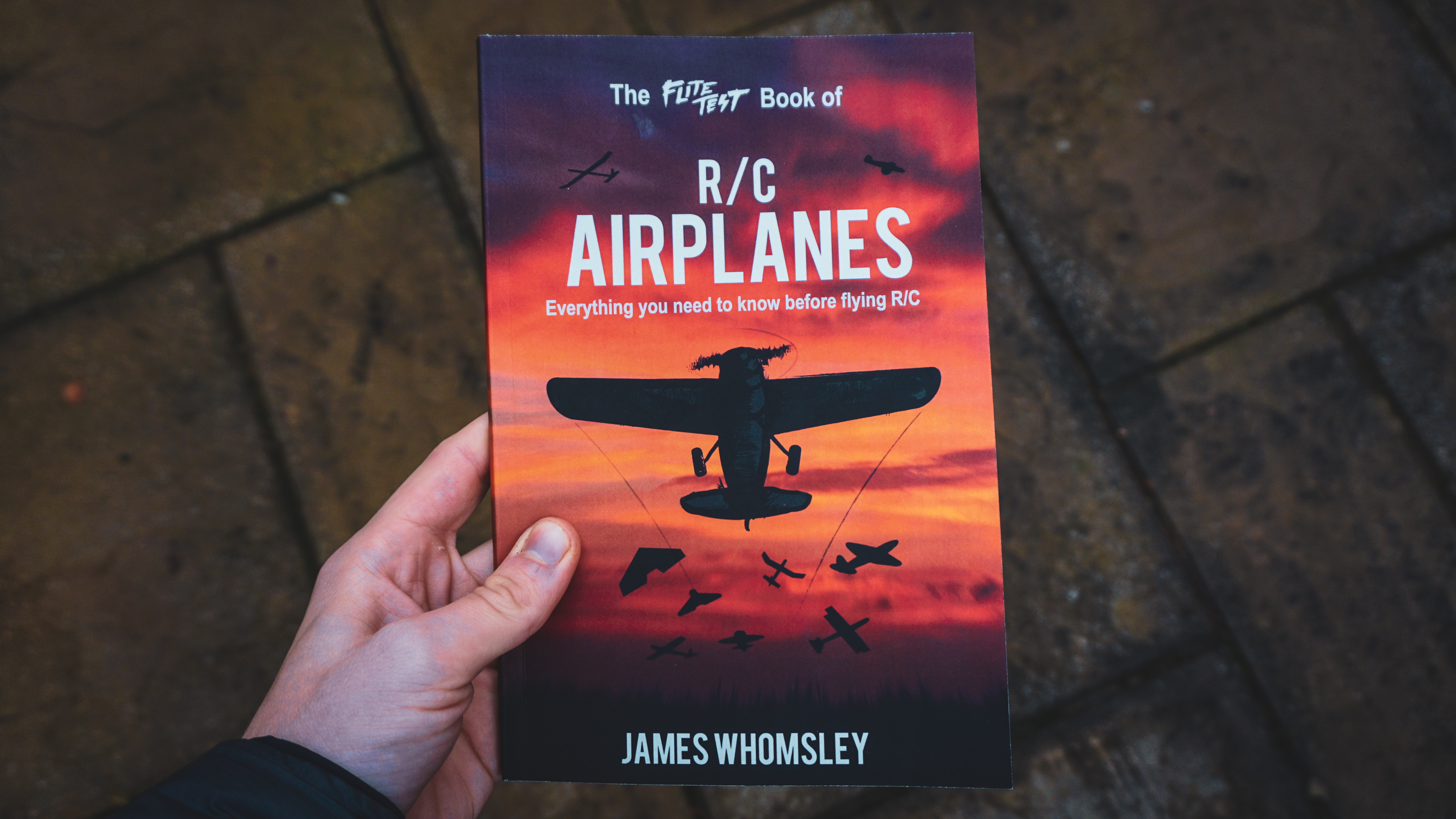 ... to announce that we've opened another avenue to help individuals get  started through a brand new publication, 'The Flite Test Book of R/C  Airplanes'.