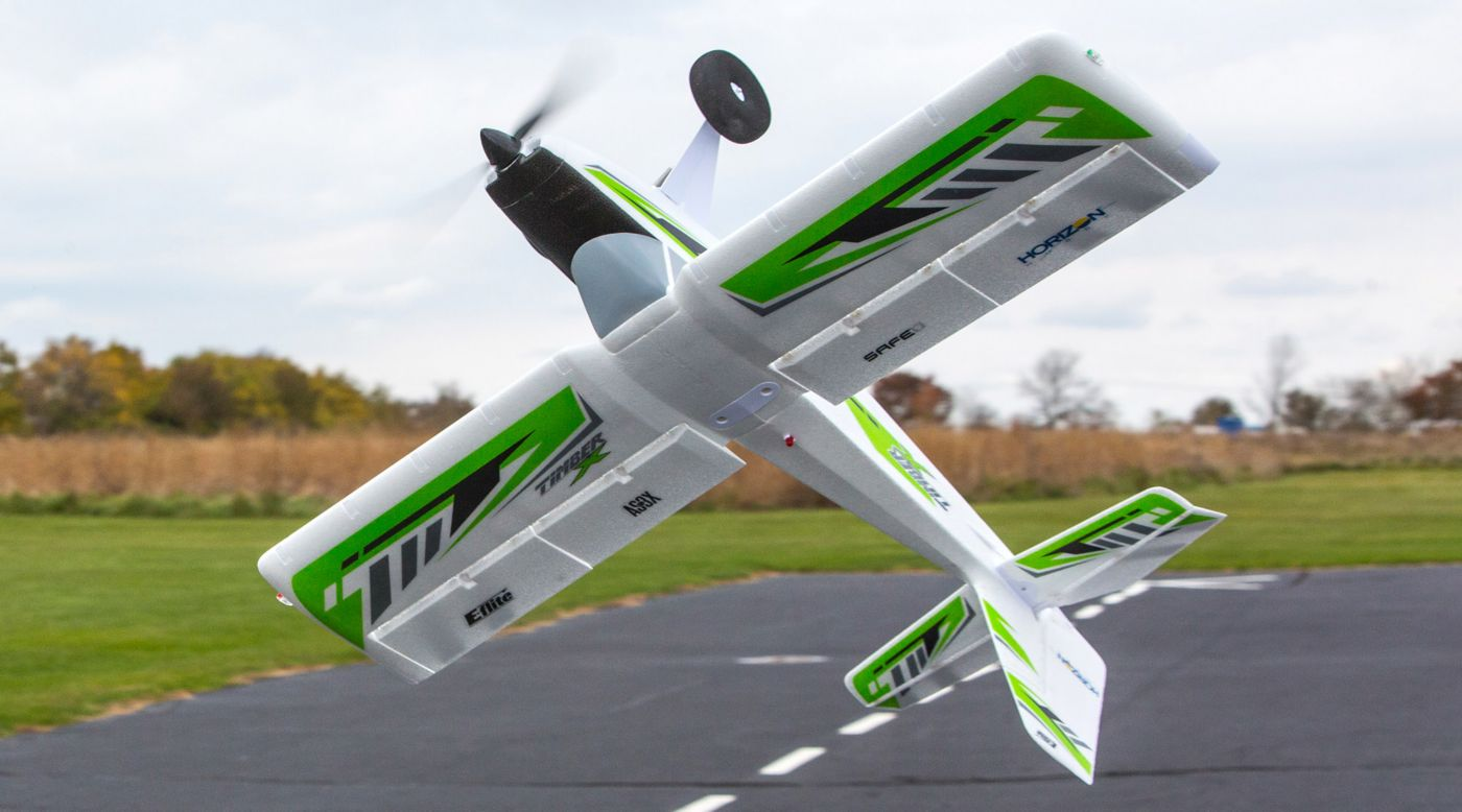 New E Flite Timber X Upgraded With Stol And 3d Flite Test