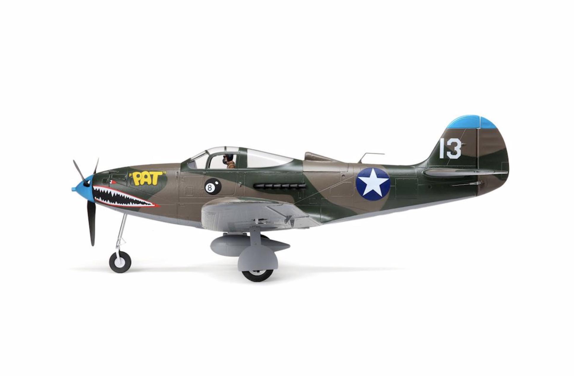 New E-Flite P-39 Airacobra 1 2m - Scale RC Warbird | Flite Test