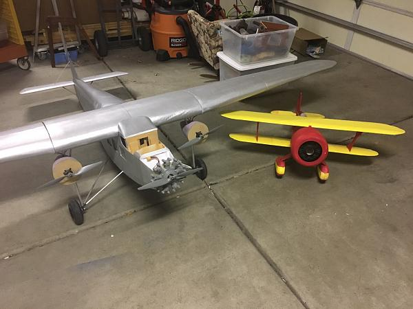 Check out this behemoth 10ft ford tri motor model flite test for Ford tri motor crash