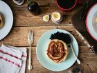 Molly Yeh's waffles à la challah are so mind-blowingly tasty that challah French toast better watch its back.