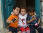 Children at the Shevet Achim house in Jerusalem.