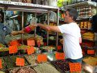 Chef Michael Solomonov, here in Levinsky Market in Tel Aviv, sampled foods from across Israel.