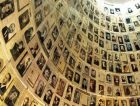 An exhibit of Holocaust victims at Yad Vashem.