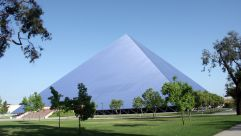 Walter Pyramid at California State University, Long Beach.