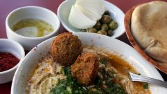 Mediterranean cuisine, of some sort, in Tel Aviv